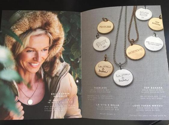 A sampling of India Hicks Tokens